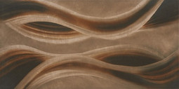 Serra Pulpis Brown Wave Décor 30x60 Glossy плитка